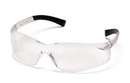 Picture of Pyramex Ztek Safety Glasses - Clear Anti -Fog Lens, Clear Frame