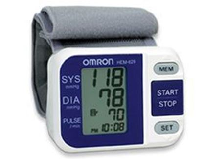 Picture of zzz-3 Series™ Wrist Blood Pressure Monitor, Home Use, w/IntelliSense, 60 Memory