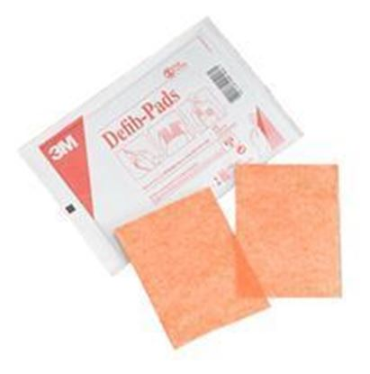"Picture of 3M™ Defibrillation Pads, 4-1/2"" x 6"" (CASE OF 100 PAIR)"