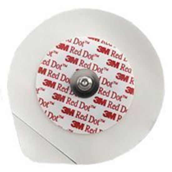 Picture of 3M™ Red Dot™ Clear Plastic Monitoring Electrodes