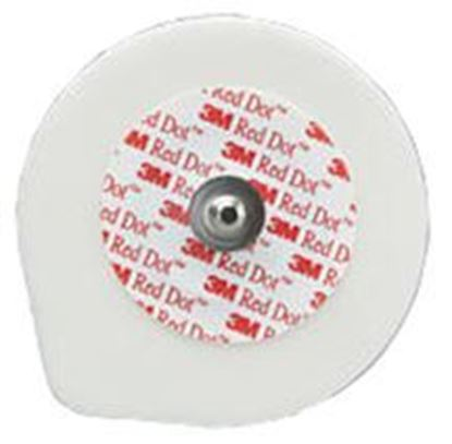 Picture of 3M™ Red Dot™ Foam Moniting Electrodes. 1.75""