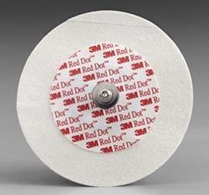 Picture of 3M™ Red Dot™ Pediatric Electrodes w/ Micropore™Tape