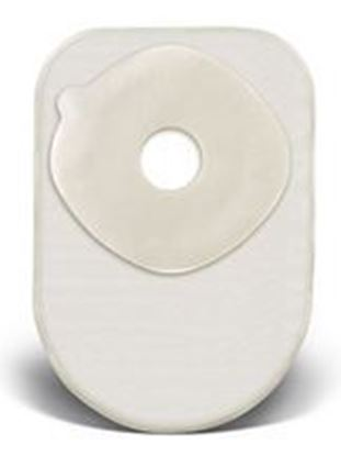 """Picture of One Piece Closed 8"""" Pouch, 1¼"""" Pre-Cut Stoma Skin Barrier, Filter, Box/60, TR"""