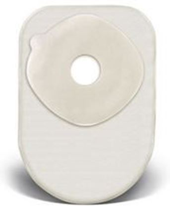 """Picture of One Piece Closed 8"""" Pouch, 1½"""" Pre-Cut Stoma Skin Barrier, Filter, Box/60, TR"""