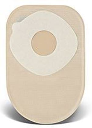 "Picture of One Piece Closed 8"" Pouch, 2"" Pre-Cut Stoma Skin Barrier, Filter, Box/60, TR"