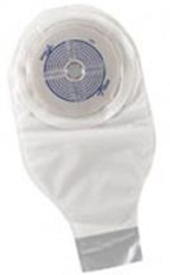 """Picture of One Piece Drainable 12"""" Pouch, ¾-2½"""" Cut-to-Fit Stoma Skin Barrier, Box/20, TR"""
