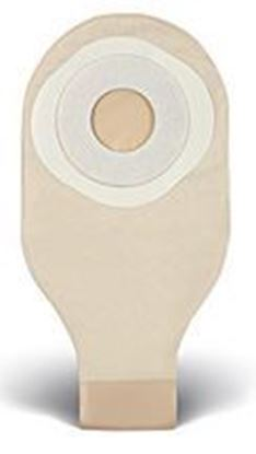 "Picture of One Piece Drainable 12"" Pouch, 1¼"" Pre-Cut Stoma Skin Barrier, Box/10, Trnsprnt"