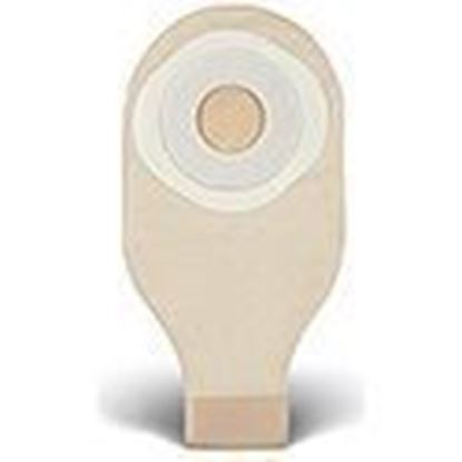 "Picture of One Piece Drainable 12""  Pouch, 1¾"" Pre-Cut Stoma Skin Barrier, Tape, Clip, Trnsprnt"