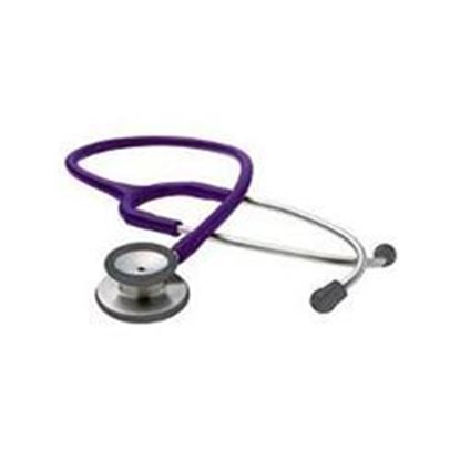 "Picture of Adscope® Clinician Stethoscope, 21"" Purple Tubing, 31"" Total Length"