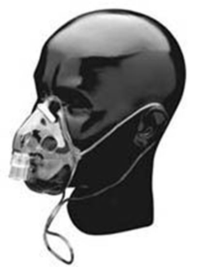 Picture of Adult Oxygen Mask w/7ft tubing