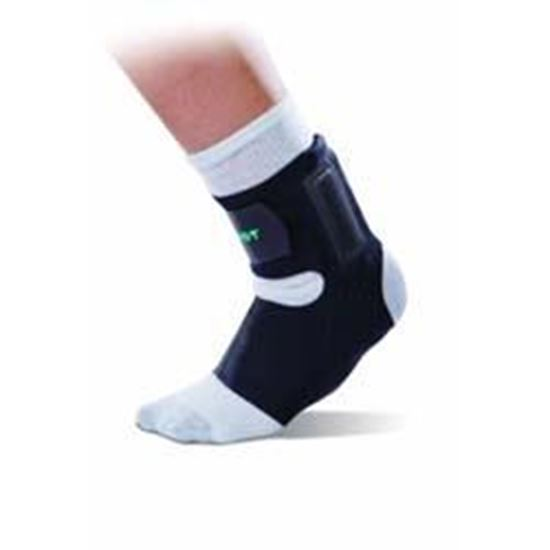 Picture of Aircast® AirHeel™ Ankle Support with Stabilizers, Black, Medium