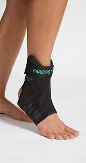 Picture of AirCast® Air-Sport™ Ankle Brace, Black, Medium, Left