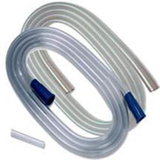"""Picture of Argyle™ Suction Tubing with Molded Connectors, 1/4"""" x 10', Sterile, Latex Free"""
