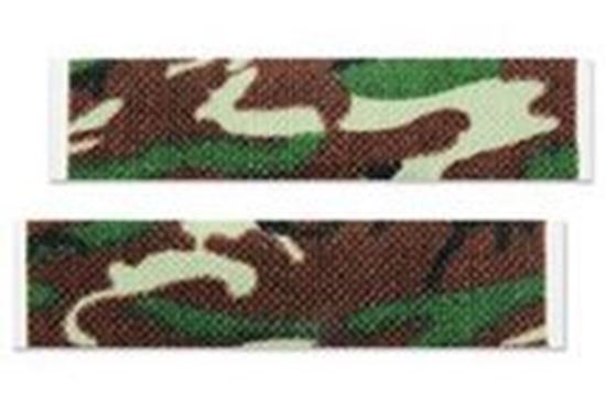 "Picture of ASO Careband™ Green Camo Bandages, 3/4"" x 3"" Strips, Latex Free"