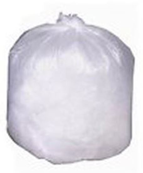 "Picture of BUNZL/PRIMESOURCE® Hi-D Natural Liner, 7-10 Gal, 6 mic, 24""x24"", Drop Ship Only"