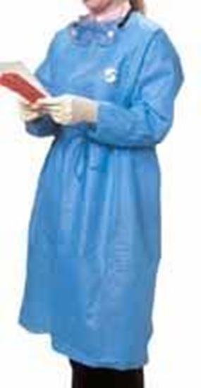 Picture of Kendall™ ChemoPlus™ Splash Resistant Protective Gown, Medium, Blue