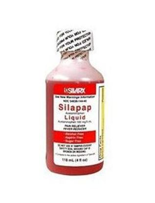 Picture of Children's Silapap Acetaminophen Liquid, 4 oz