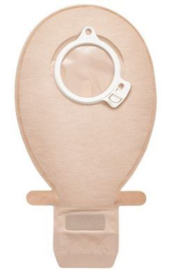 "Picture of Click MAXI Drainable Urostomy Pouch, 655ml, 11½"",B=3 15/16"",C=2"",2-Piece,Opaque"