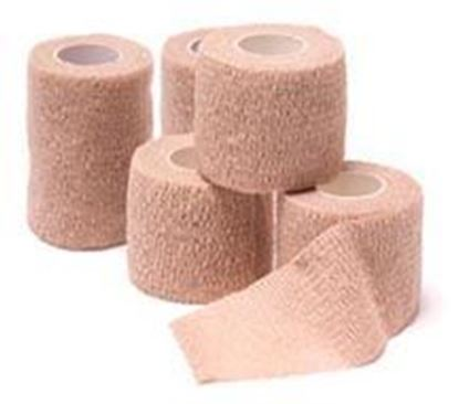 "Picture of Cohesive Bandage, Assted Colors,1""x5 yds,(6-Blue,6-Purple,6-Red,6-Green,6-Pink)"