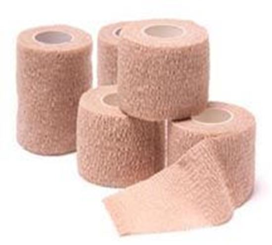 "Picture of Cohesive Bandage, Assorted Colors, 4""x5 yds,"