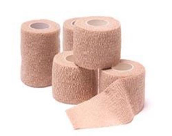 """Picture of Cohesive Bandages, Tan, 1"""" x 5 yds"""