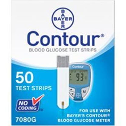 Picture of CONTOUR® Test Strips, Retail, 50ct