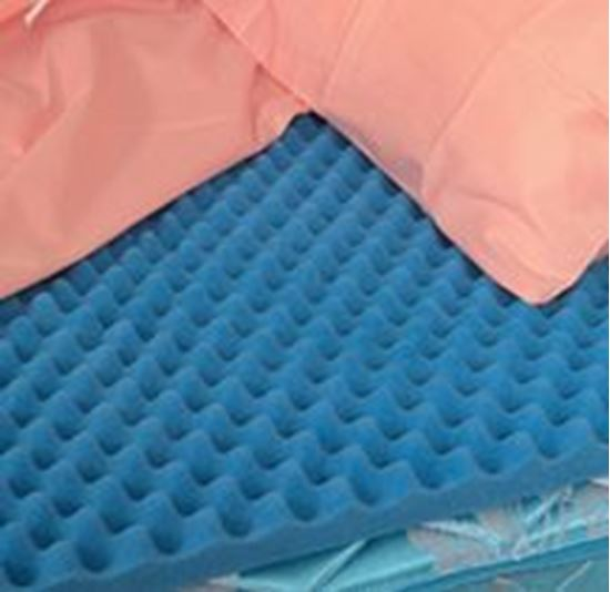 "Picture of DMI® Convoluted Hospital Bed Pad, 33"" x 72"" x 3"" (Egg Crate)"