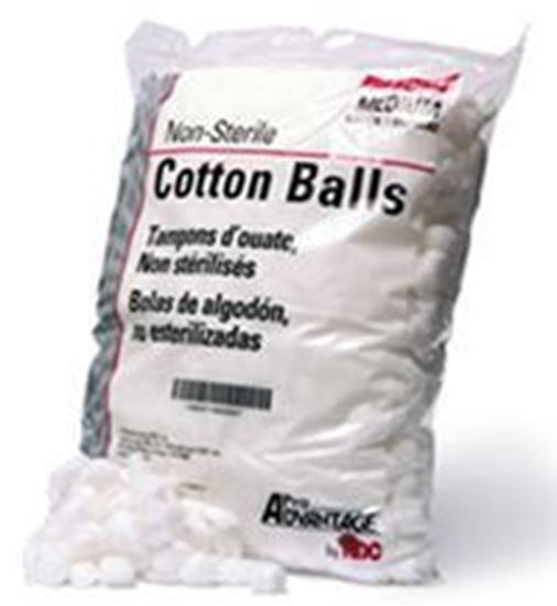 Cotton Balls, Medium, 1000/bag| Elite Medical Supplies ...