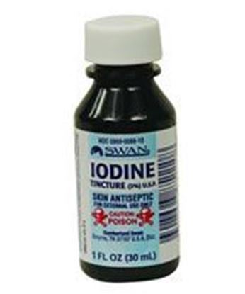 Picture of Cumberland Swan® Iodine Tincture, 1 oz