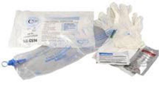 Picture of Cure Catheter® Closed System Kit, 14Fr
