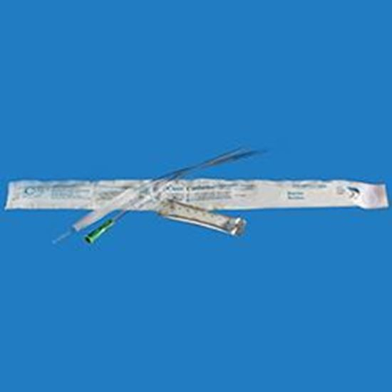 """Picture of Cure Catheter® Male 16"""", Straight Tip, (Hydrophilic), 16Fr"""