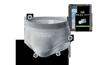 Picture of Depend® Real Fit® Prem. Briefs for Men, 38-50""