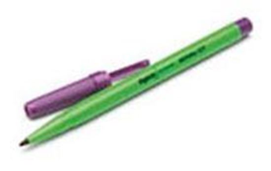 Picture of Devon™ Surgical Skin Marker, Violet, Regular Tip with Ruler, Sterile