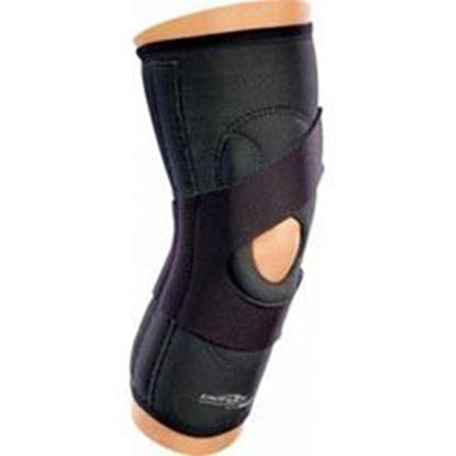 "Picture of DonJoy® Lateral ""J"" Knee Brace/Support, Neoprene, Black, X-Small, Right"