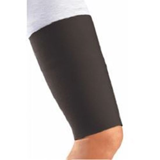 Picture of DonJoy® Thigh Sleeve/Support, Neoprene, Black, Small