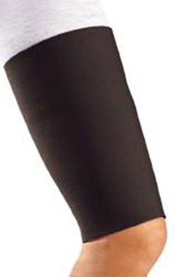 Picture of DonJoy® Thigh Sleeve/Support, Neoprene, Black, X-Large