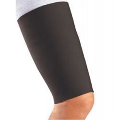 Picture of DonJoy® Thigh Sleeve/Support, Neoprene, Black, X-Small