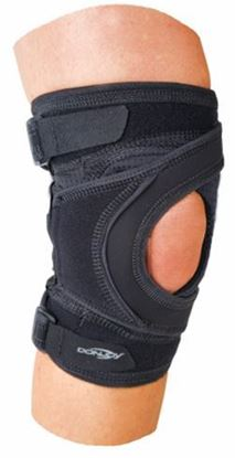 Picture of DonJoy® Tru-Pull Lite™ Knee Brace, Sleeve, Black, Medium, Right