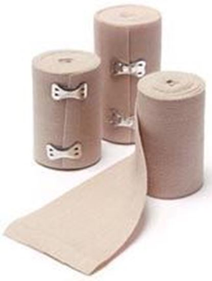"""Picture of Elastic Bandage, Woven, Standard Clip, 4"""" x 4 1/2 yds"""