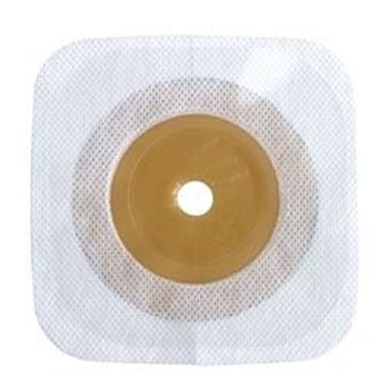 """Picture of Stomahesive® Skin Barrier, upto 2 3/8"""" Cut-to-Fit Stoma, Box/10, White"""