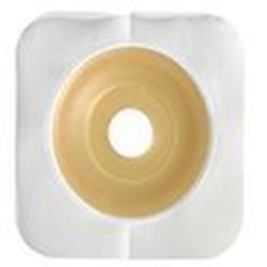 """Picture of Durahesive® Convex Skin Barrier, ½-7/8"""" Mold-to-Fit Stoma, Box/10, White"""