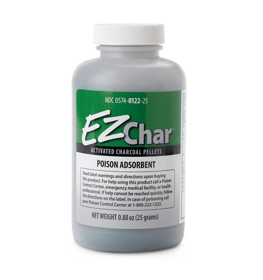 Picture of EZ Char® Activated Charcoal Pellets, 25 GM