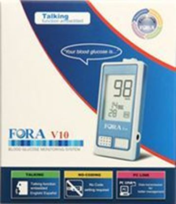 Picture of Fora V10 Blood Glucose Meter