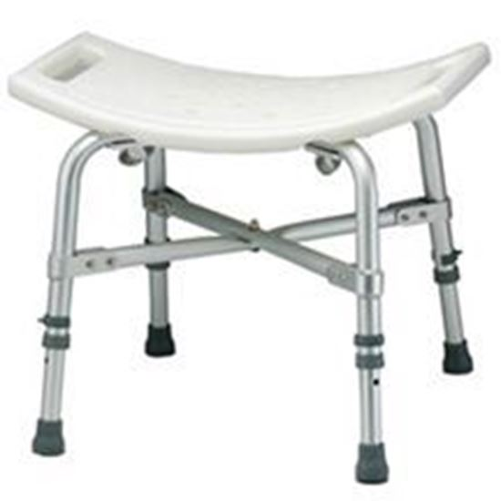 Picture of Heavy Duty Bath Bench,500lb weight capacity, Aluminum Frame, Seat