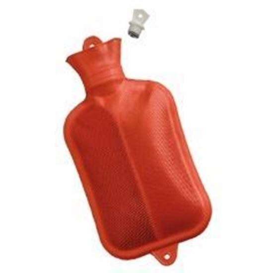 Picture of Mabis® Hot Water Bottle 2000ml (2 Quart) Reusable, Screw-Top