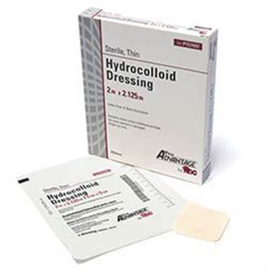 "Picture of Hydrocolloid Dressing, THIN, 2"" x 2.125"", 20/bx"