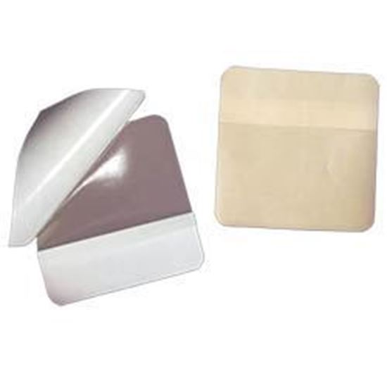 "Picture of Hydrocolloid Dressing, THIN, 4"" x 4¼"", 10/bx"