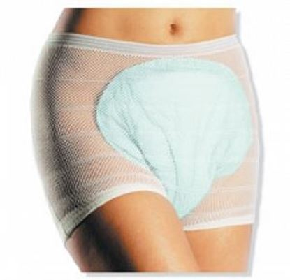 "Picture of Incontinence Mesh Underwear, Medium (20-34""), 5 count"