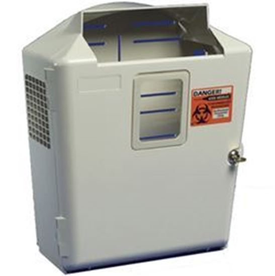 "Picture of In-Room™ System Wall Enclosure, 2 & 3 Gallon Containers, 17.5""H x 6.5""D x 14.5""W"