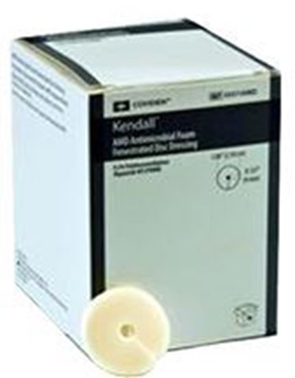 "Picture of Kendall™ AMD Antimicrobial Foam DISC Dressing, 1"" x .157"""